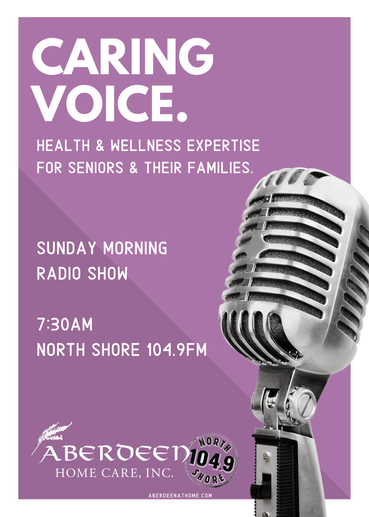 Sunday Mornings on North Shore 104.9FM